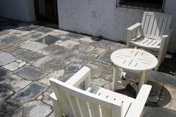 ガーデン チェア テーブル 3点セット 激安