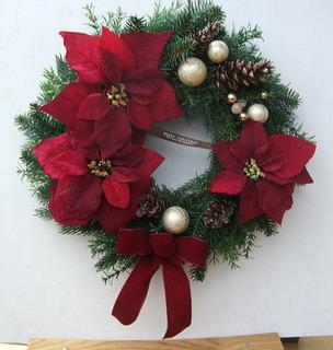 クリスマスリース 人気♪